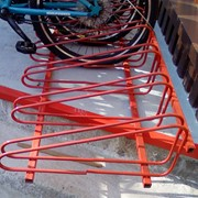 Стойки велосипедные парковочные (стояночные) фото