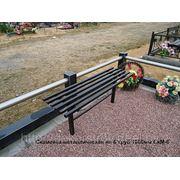 Скамейка металлическая Ск-6 фото