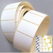 Пленка и бумага для изготовления само клеящихся этикеток. фото