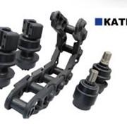 Катки натяжные Komatsu, Caterpillar, Запчасти и комплектующие для строительной техники фото