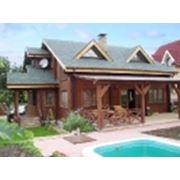Дом деревянный. фото