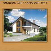 Проекты каркасных домов | проект каркасный дом AMARANT DR-T / АМАРАНТ ДР-Т|Проекты коттеджей домов. Каркасные дома планы фасады фото