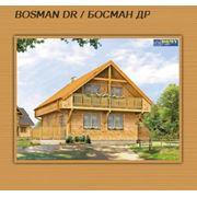 Проекты каркасных конструкций  каркасный дом под ключ BOSMAN DR / БОСМАН ДР  Каркасные дома построить дом  строительство в Украине фото