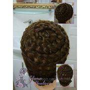 Круговое плетение - Плетение кос - Заплести косу круговым плетением - Прическа с плетением фото