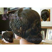 Заплести косу - Узловое плетение - Коса из узлов фото