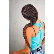 Афрокосички, тайские косички, брейды, плетение волос для детей фото