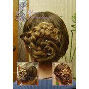 Прическа из косичек - Плетение кос прически - Современные прически фото
