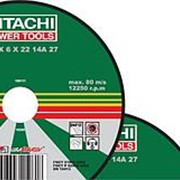 Круг зачистной HITACHI 180*6,0*22 А24 фото