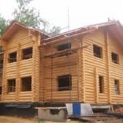 Дом деревянный 12,5*13,5м фото