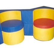 Мебель детская игровая Кресло-стол Квадрат фото