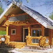 Проект дома из дерева Д0060 фото