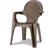 Кресло Intrecciata бронза фото