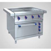 Плита электрическая 4-х конфорочная Abat ЭП-4ЖШ-Э (с эмалированной духовкой) фото