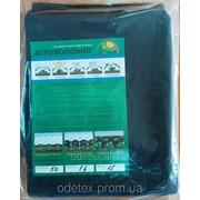 Агроволокно пакетированное черное 50 грам/м.кв. ширина 1.6 м., длина 15 м фото