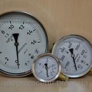 Манометр, вакуумметр и мановакуумметр виброустойчивый ДМ8008Вуф исп.1 (глицериновый) фото