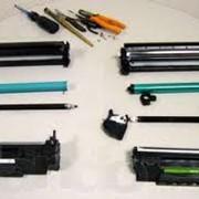 Заправка и восстановление картриджей, заправка картриджа HP 36A фото
