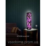 Светильник Сиреневые цветы фото