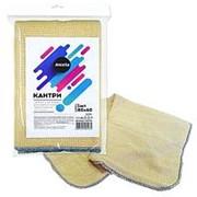 Тряпка для пола из хлопка Кантри 3-слойная с отверстием в инд.упаковке Antella 80*60 см (Антелла) фото