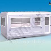 Модульный Киоск 270 см X 510 см фото