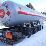 Газовоз полуприцеп цистерна 36м3 фото