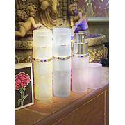 Прозрачный стеклянный флакон. Комплектуется спреем (пластик. и метал. - тип:18х415) фото