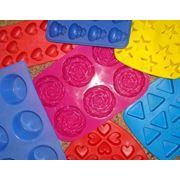 Силиконовые и пластиковые формы для мыла формочки для изготовления мыла цена. Запорожье фото