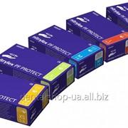 Перчатки Нитрилекс Nitrylex PF Protect (нитриловые текстурированные) 100 пар фото