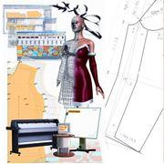 Лекала (выкройка) для одежды разработка моделирование и изготовление лекала на заказ фото