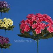 "Цветок искусственный ""Фиалка в букете"" арт. АХ34052 фото"