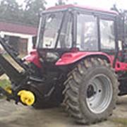 Экскаватор цепной быстромонтируемый на заднюю с/х навеску трактора фото