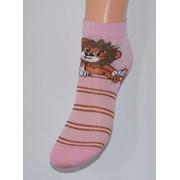 Носки детские розовые лева фото