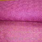 Ткань ажурная (фрезия) фото