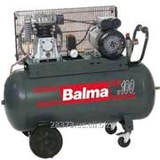 Профессиональный поршневой компрессор с клиноременной передачей Balma NS18/100CT3 фото