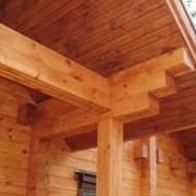 Подбивка крыш из дерева из дерева, изготовление крыш, по Киеву, Украина, Цены самые доступные фото