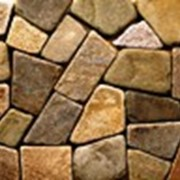 Кирпич литос фагот керамический, камень песчаник сланец фото