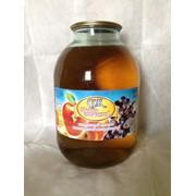 Сок яблочно-виноградный, неосветлённый с сахаром, восстановленный, 3 л фото
