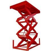 Стол подъемный (3х ножничный) 2200х1300мм, г/п 1500кг фото