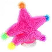 Аквадекор Морская звезда , 14 х 13 х 2,5 см, силикон, микс цветов фото