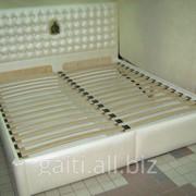 Кровать ФЕЛИЧИТА,кровать двуспальная,кровать Львов,мебель в спальню,кровать двухместная,кровать из кожи,кровать на подъёмнике,кровать с матрасом фотография