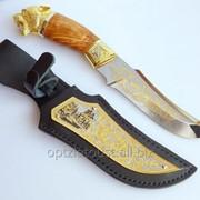 Нож украшенный фото