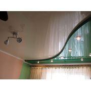 Натяжные потолки двухуровневые, Алчевск, Украина фото