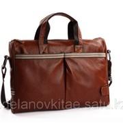 Мужской кожаный портфель M0023 фото