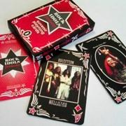 НОВИНКА-2013! Сувенирные игральные карты «Идолы Рока-1» (Rock Idols-1) фото