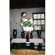Цветочницы для памятников фото