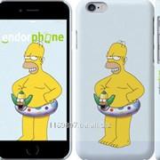 Чехол на iPhone 6 Гомер и надувной круг 657c-45 фото