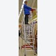 Лестница 6 ступеней с платформой Vario компакт 833013 фото