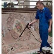 Капитальная стирка ковров фотография