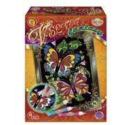Набор для росписи по бархату Бабочки фото