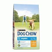 Сухой корм для щенков DOG CHOW PUPPY Chicken 2.5 кг фото