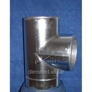 Тройник термо 87 Ф150/220 к/оц фото